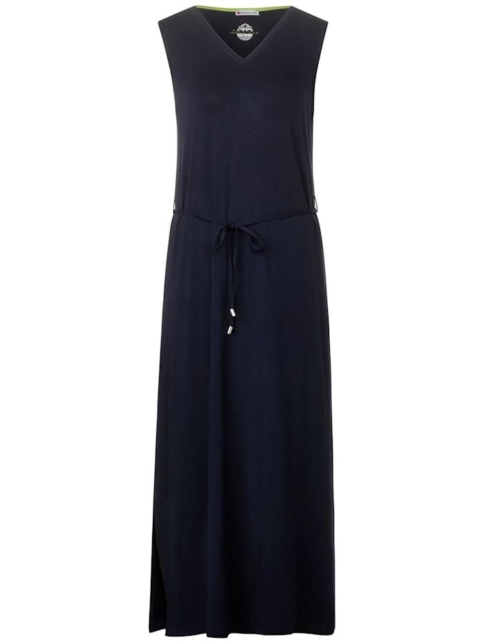 street one - Ärmelloses Jersey Kleid  deep blue