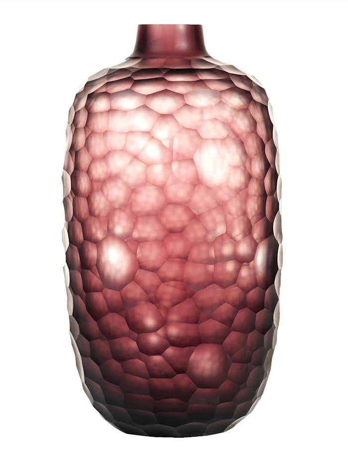 Ganz klar: Vase, Impressionen living lila Post