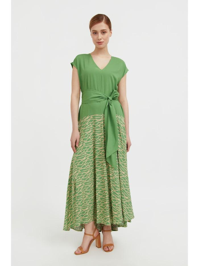 finn flare - Freizeitkleid in stylischer A-Linie  green