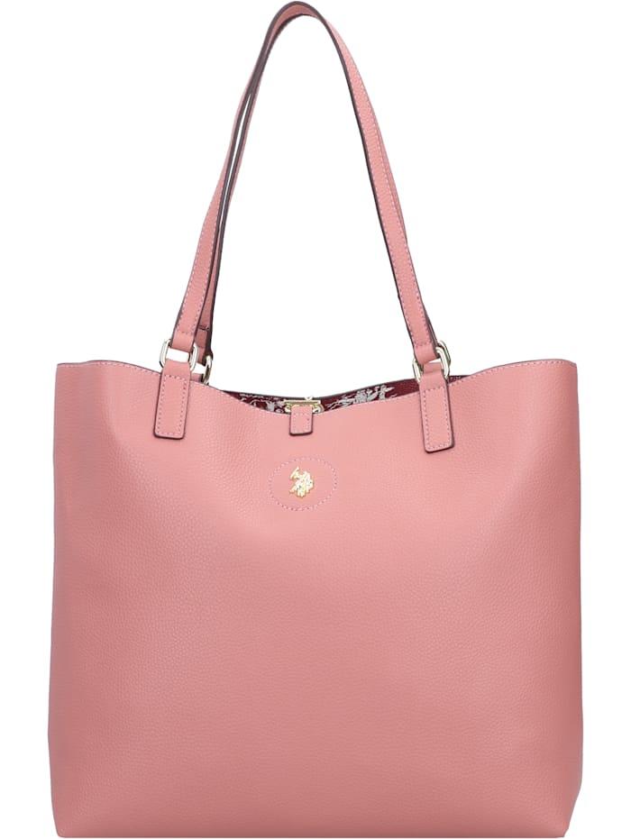 u.s. polo assn. - Rogersville Shopper Tasche mit Wendefunktion 34 cm  rose