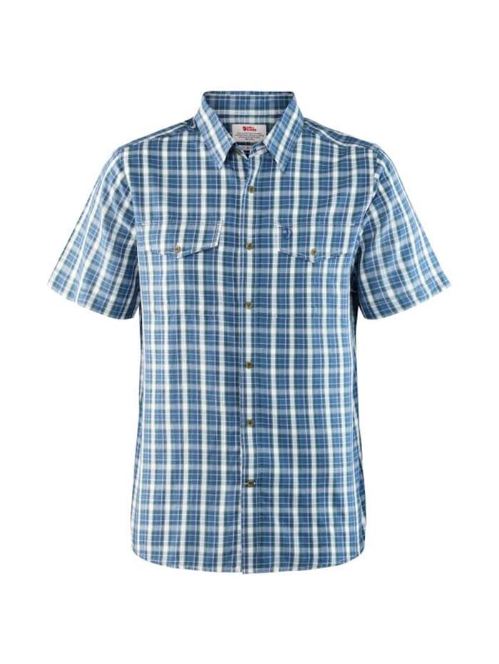 fjällräven -  Hemd Abisko Cool Shirt SS  Blau