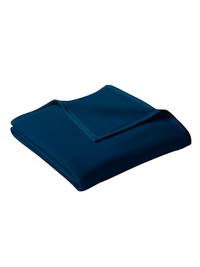 Plaid Uno Cotton biederlack Donkerblauw
