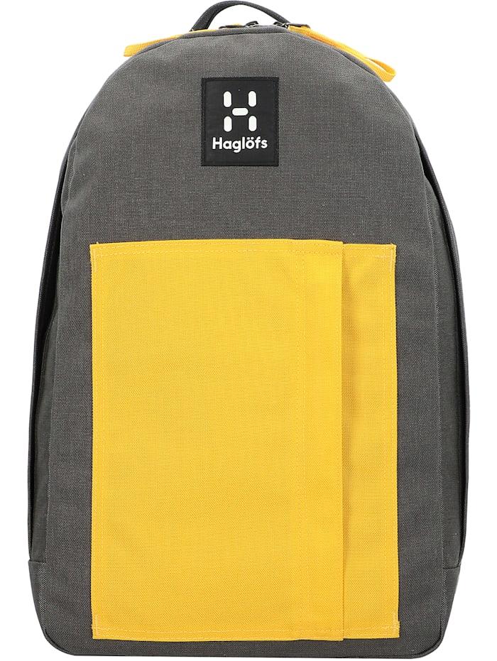 haglöfs - Floda Rucksack 45 cm Laptopfach  magnetite/pumpkin yellow