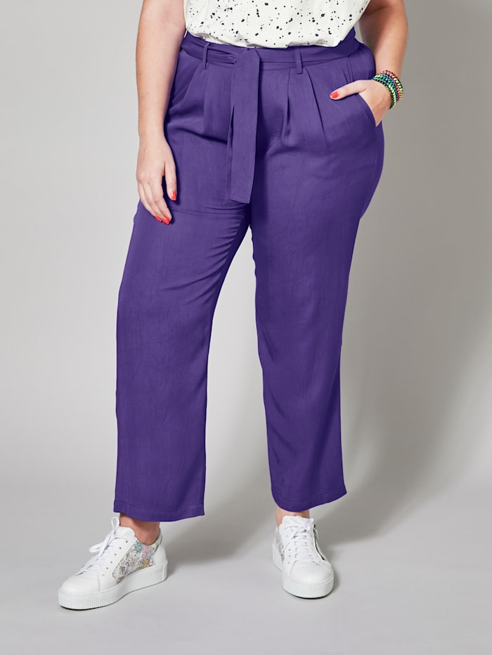 angel of style - Paperbag-Hose  Lila