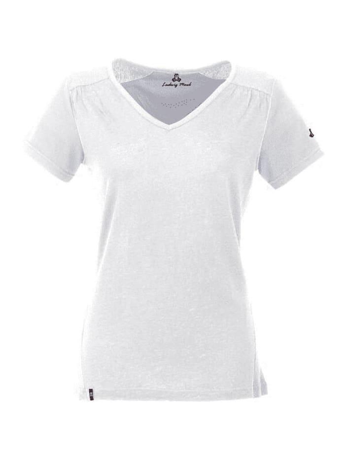 maul -  Tshirt Ivonne  Weiß