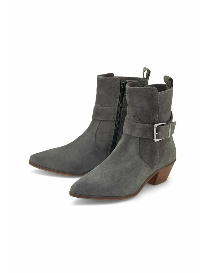 cox - Klassische Stiefeletten Trend-Stiefelette  mittelgrau