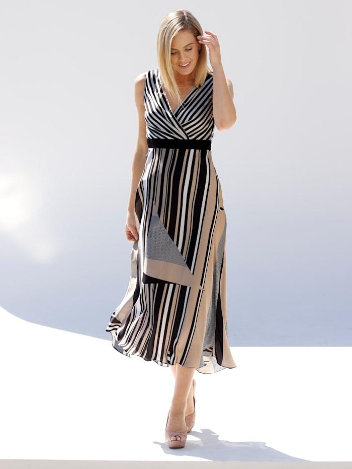 amy vermont - Kleid  Off-white::Schwarz