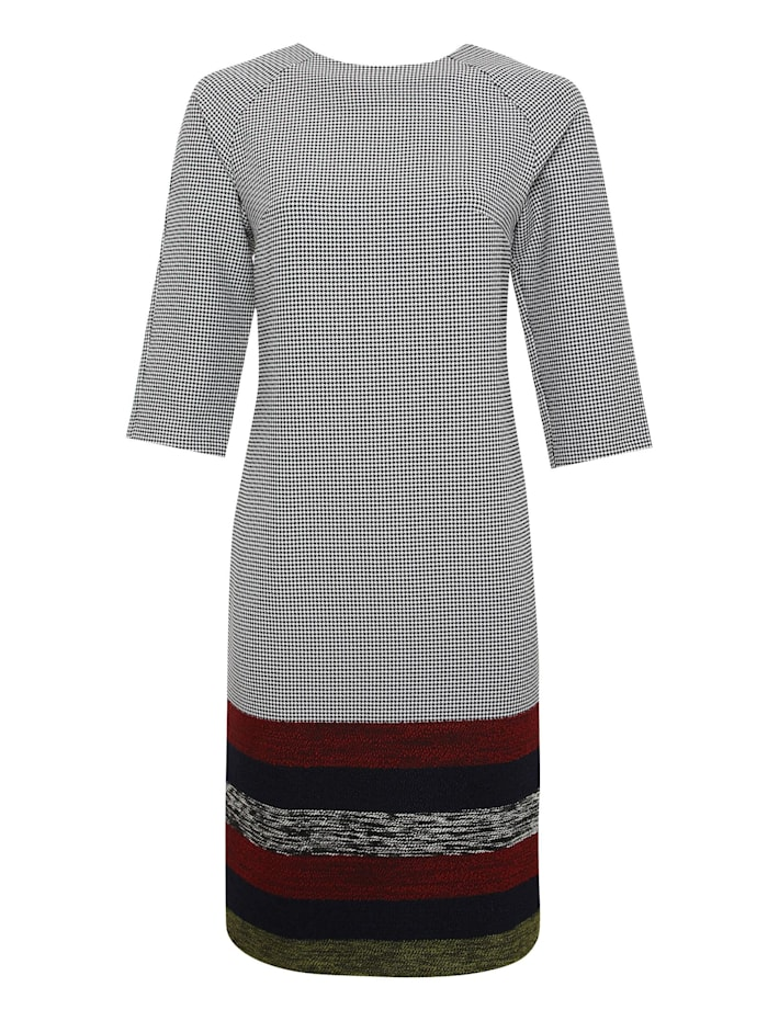 madam-t - Alltagskleid Kleid Izmira  grau, rot