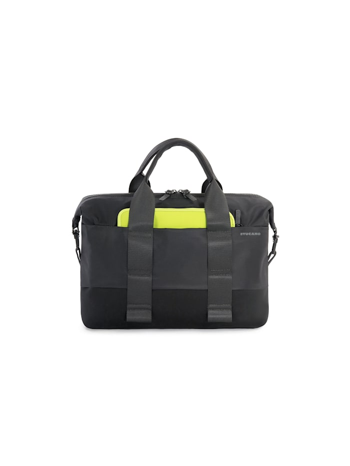 tucano - Aktentasche Laptop business slim bag 15.6inch  black
