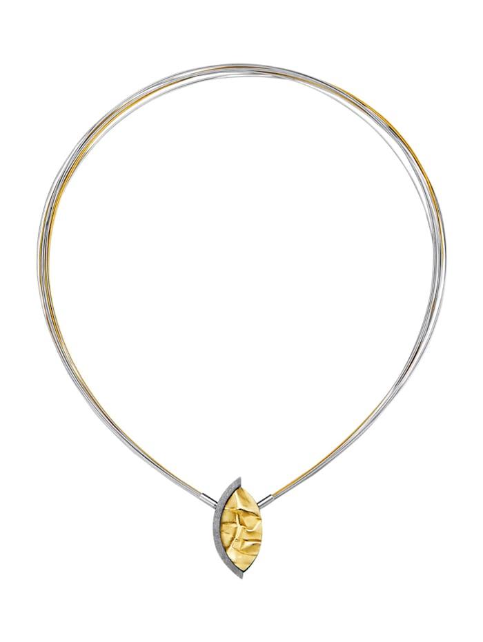 Image of 12rhg. Collier Amara Trend Gelbgoldfarben