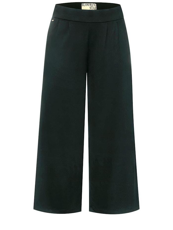 street one - Wide Leg Jersey-Hose  endless green