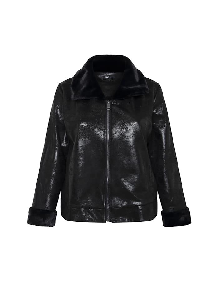spgwoman - Bikerjacke Kombinierte Biker Jacke  black