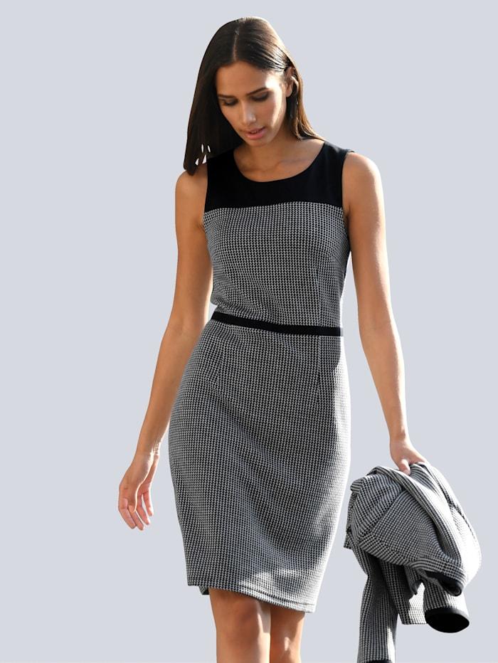 alba moda - Kleid  Marineblau::Off-white