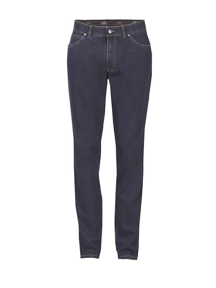 club of comfort - Jeans JAMES  4631 im Straight-Fit  dunkelblau 40