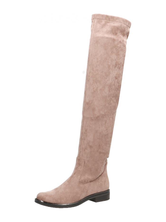 caprice - Overknee-Stiefel  taupe