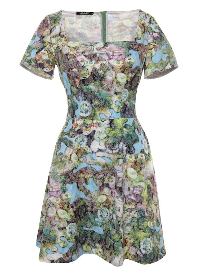 madam-t - Cocktailkleid Kleid Agava  hellblau, grün