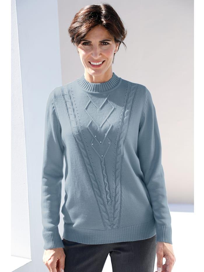 Pullover Paola Hellblau