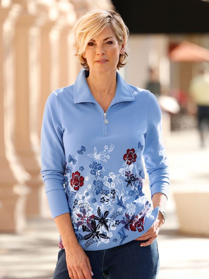 2er P. Sweatshirt Paola Blau