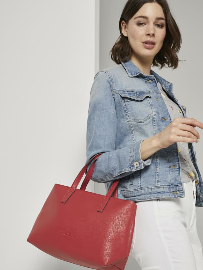 tom tailor - Shopper Marla  red