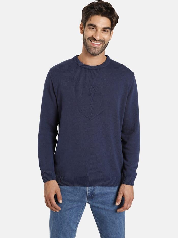 jan vanderstorm -  Pullover OLLE  dunkelblau