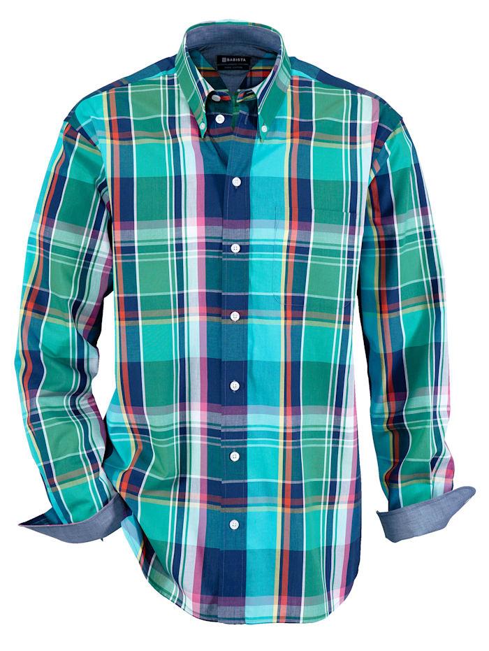 Overhemd BABISTA Groen::Petrol
