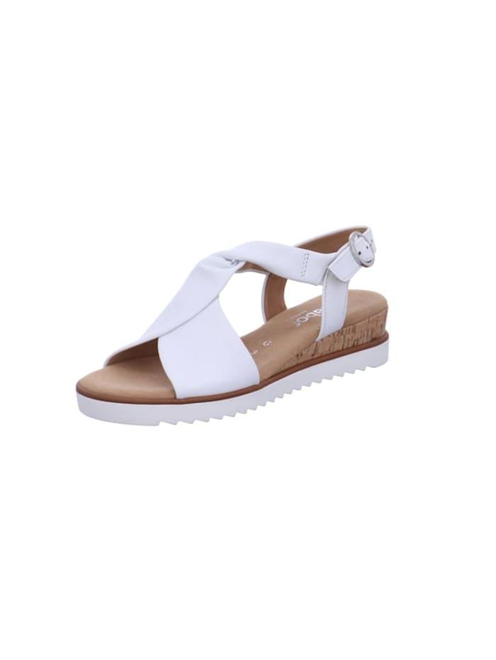 gabor - Sandalen/Sandaletten  weiß