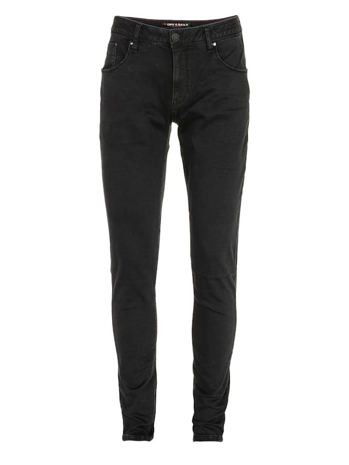 cipo & baxx - Jeans im klassischen 5-Pocket-Design  Black