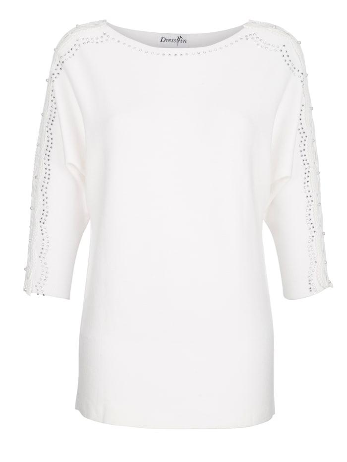 Trui Dress In Wit