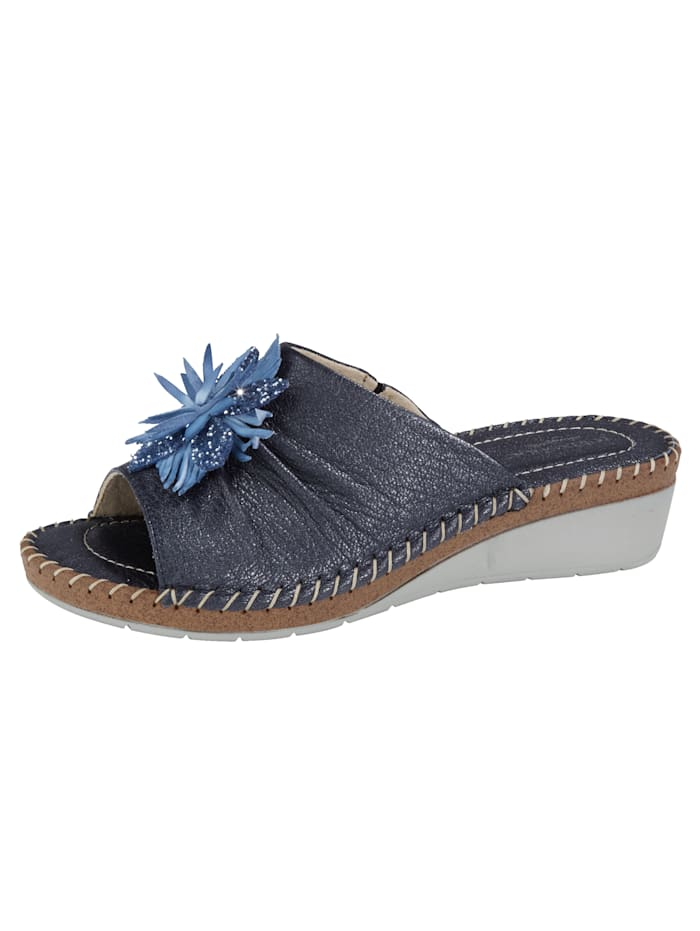 Mules Relaxshoe Bleu