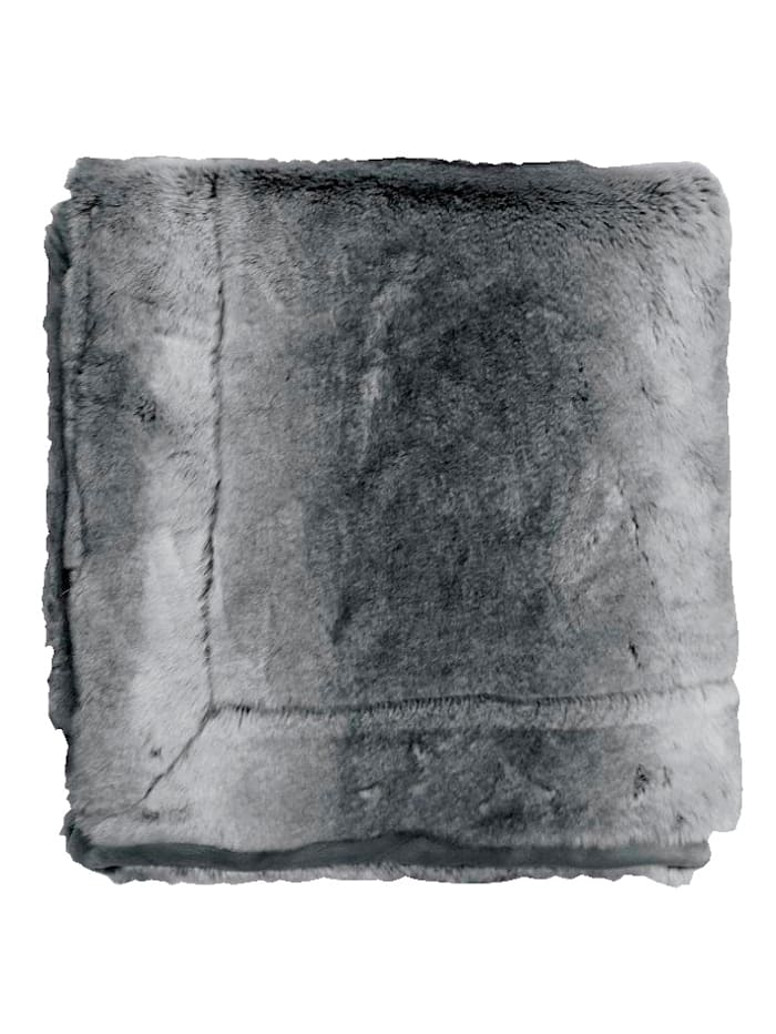 Plaid 'Roman' Essenza Grau