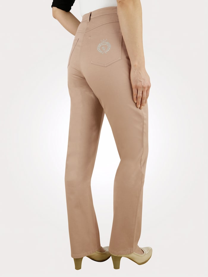 Jeans Paola Camel