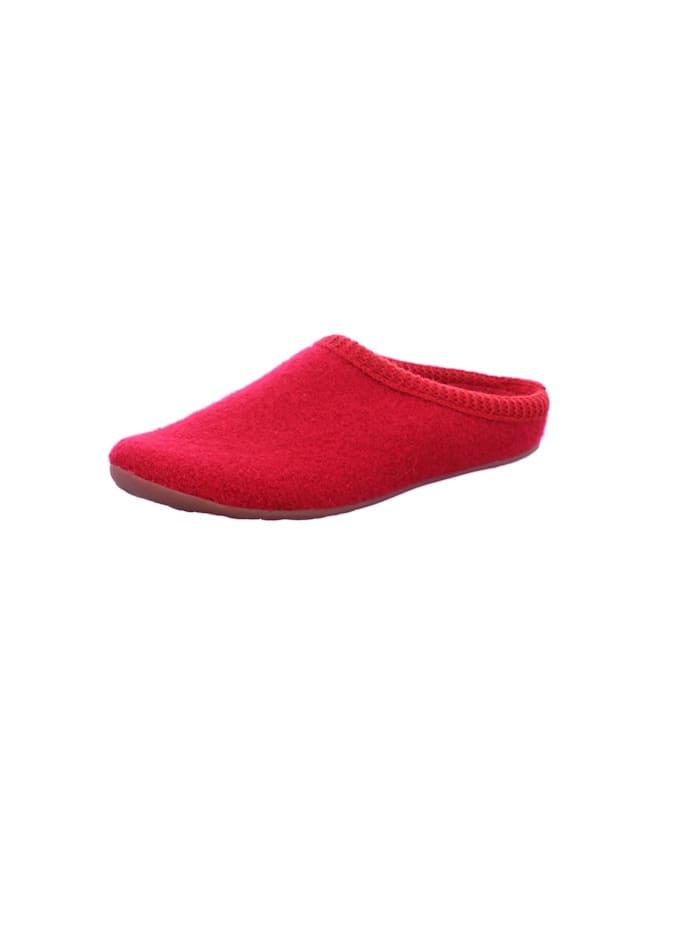 Hausschuhe Haflinger rot