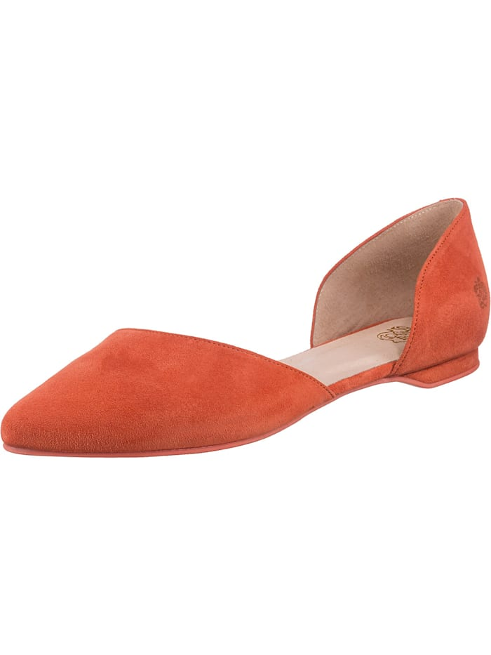 apple of eden - Blondie Klassische Ballerinas  orange