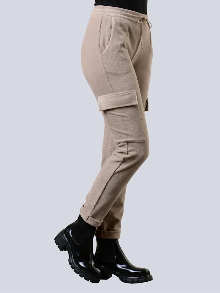 alba moda - Cordhose  Taupe