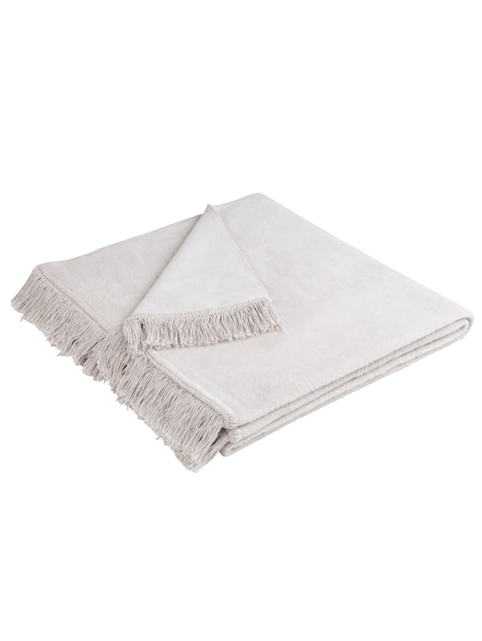 Meubelbeschermers Cover Cotton biederlack Zilver