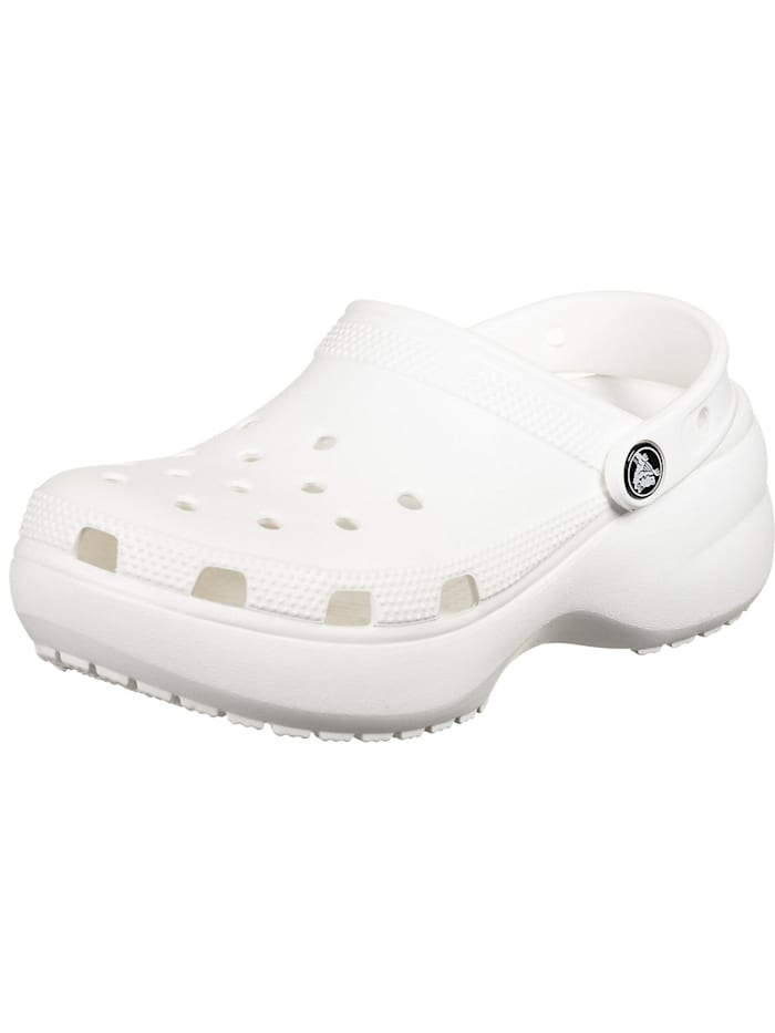 crocs - Classic Platform Clog W Clogs  weiß