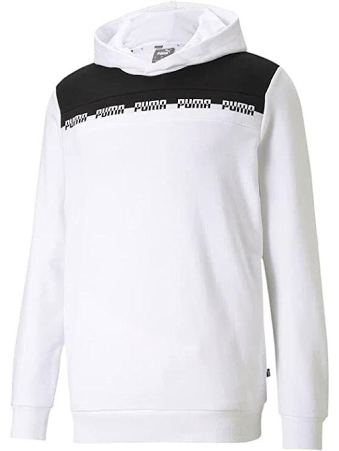 puma -  Hoodie Amplified Advanced  Weiß