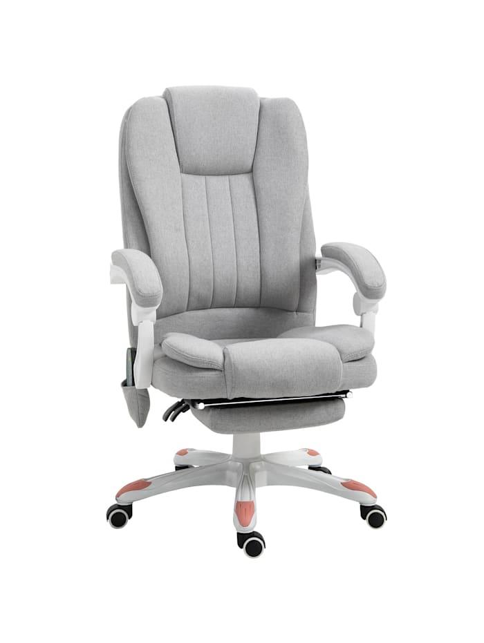 Bürostuhl mit Massagefunktion Vinsetto grau