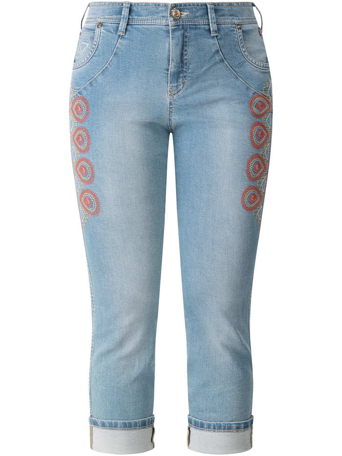 recover pants - Jeans bestickt  bleached
