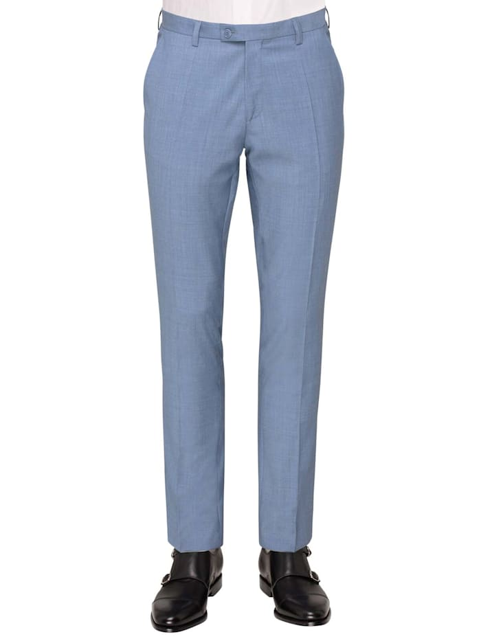 club of gents - Anzug-Hose CG Pascal zum besonderen Anlass  Hellblau