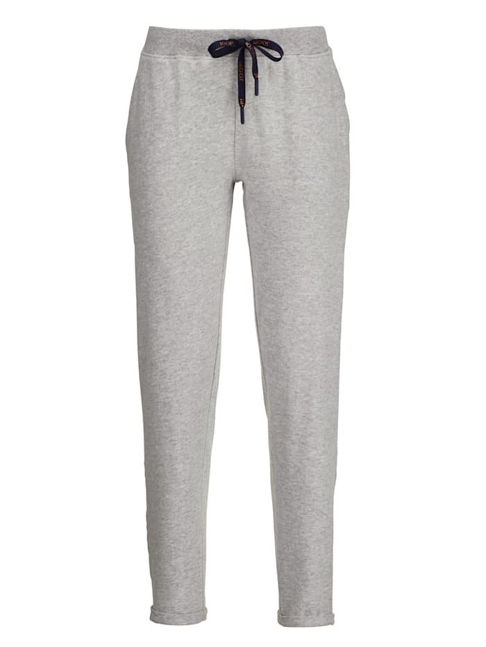 Pantalon de loisirs JOOP! Gris chiné/bleu/blanc