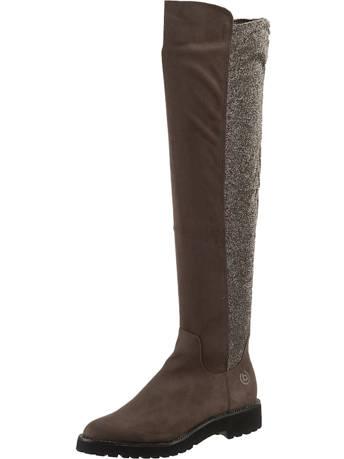 bugatti - Overknee-Stiefel  grau