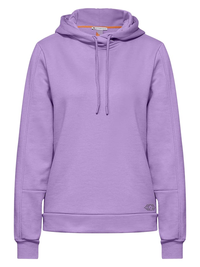 street one - Softer Hoodie Pullover  clear lilac