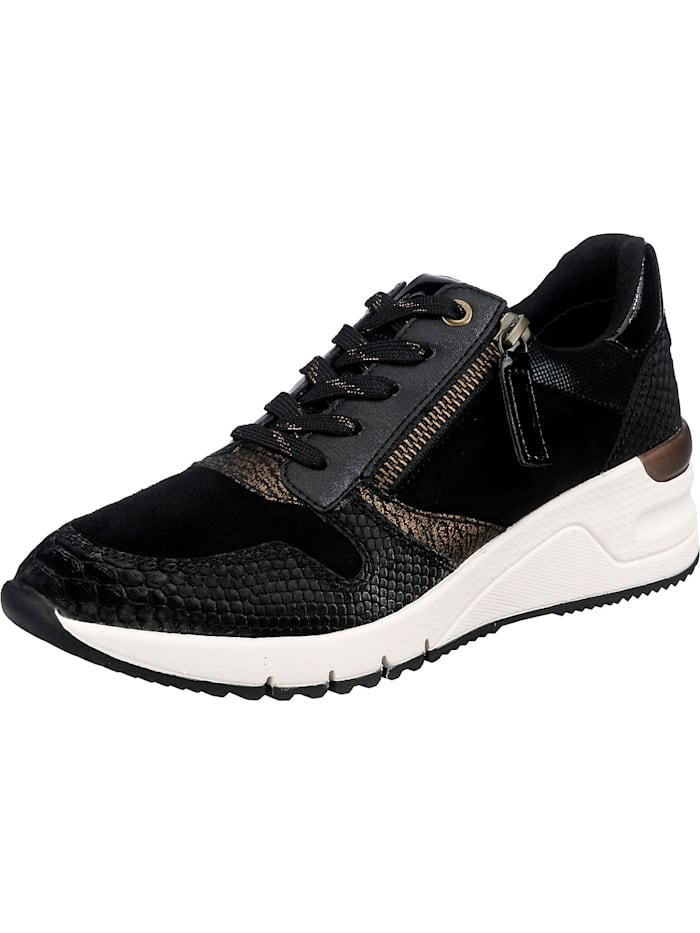 tamaris - Sneakers Low  schwarz