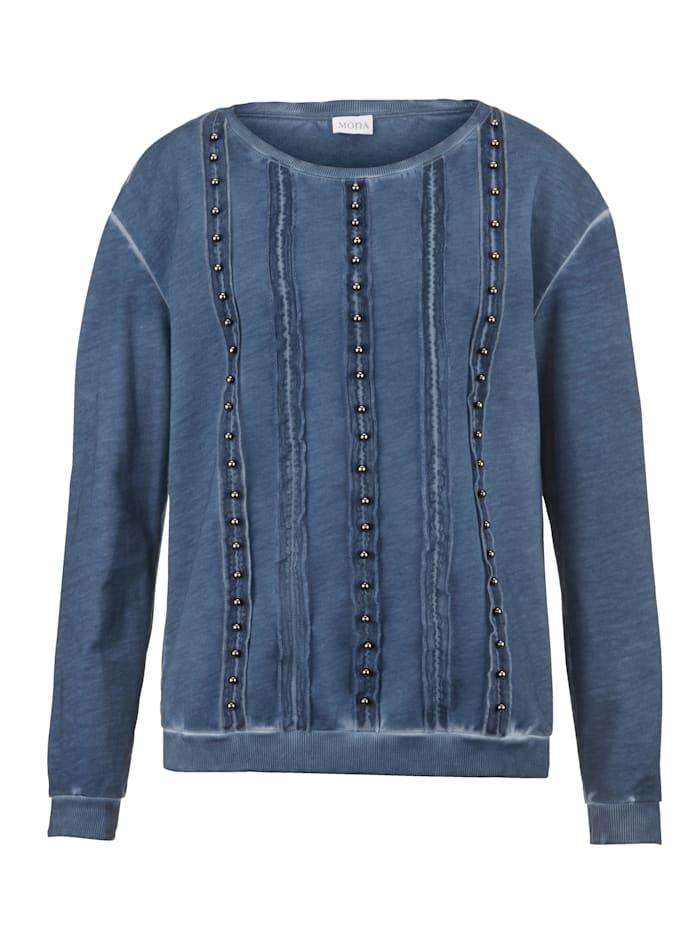 Sweatshirt MONA Blauw