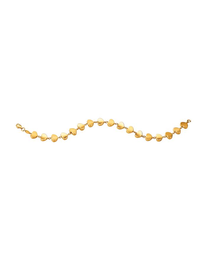 Armband Harten Diemer Gold Geelgoudkleur