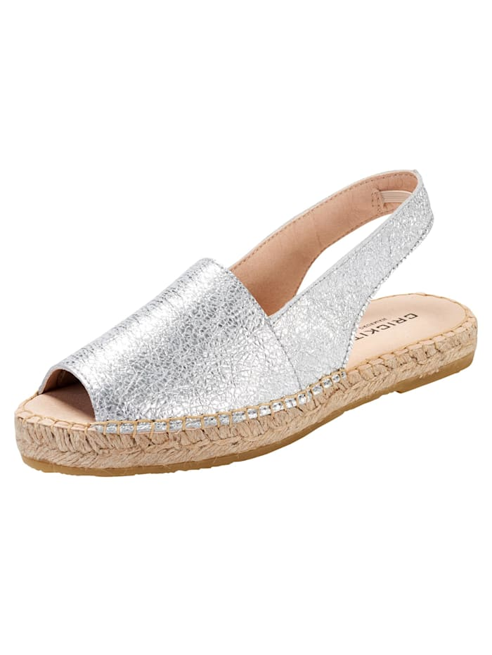 crickit - Sandale Lisa  metallic silver