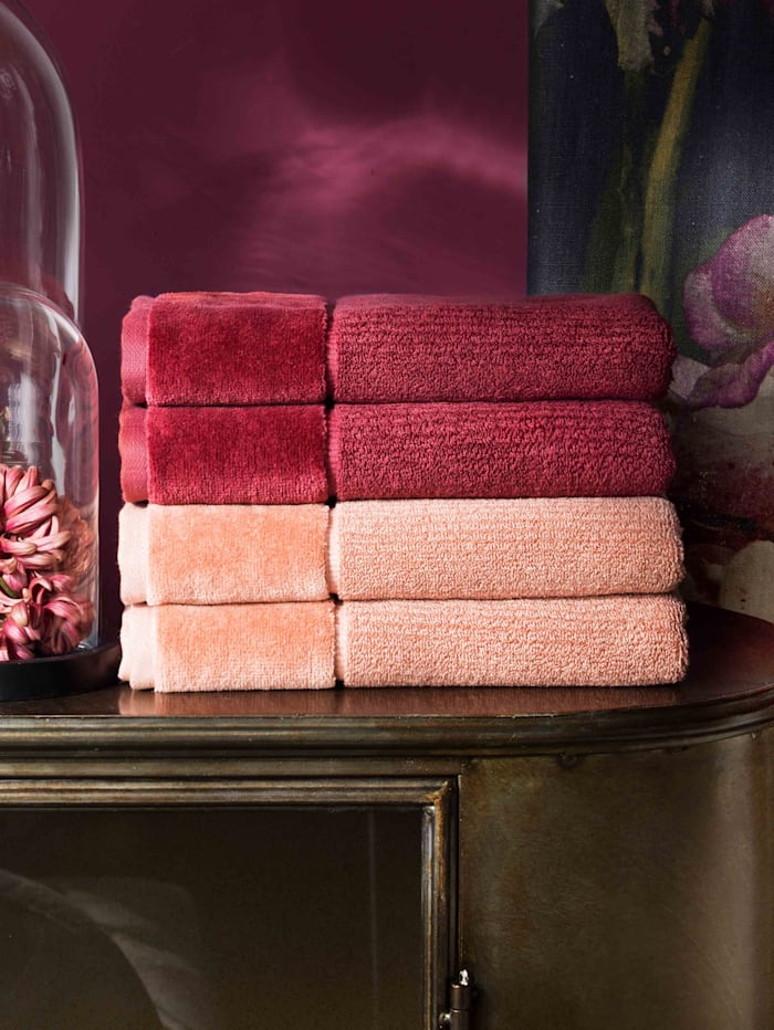 Handdoeken Pure Vossen red rock