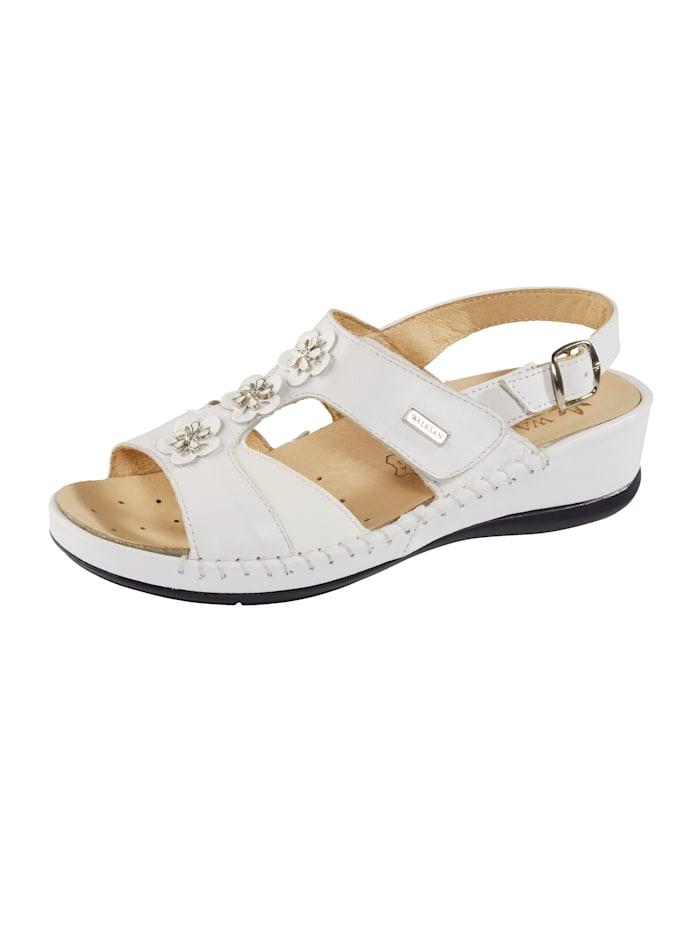 Sandale Leonie Weiß