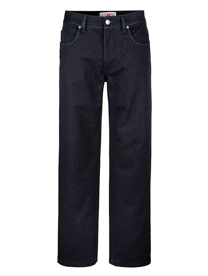 5 Pocket Hose Roger Kent Marineblau